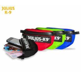 Julius-K9 IDC Univerzális oldaltáska / pár, hám méret: bébi 1 - size 4, fekete
