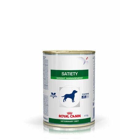 Royal Canin Satiety Weight Management  konzerv táp kutyáknak 410 g