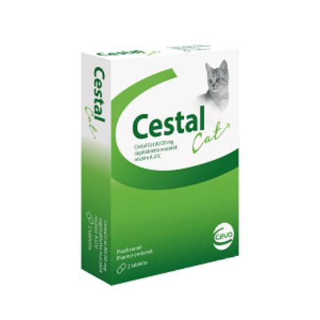 Cestal Cat rágótabletta 8 tabletta/csomag