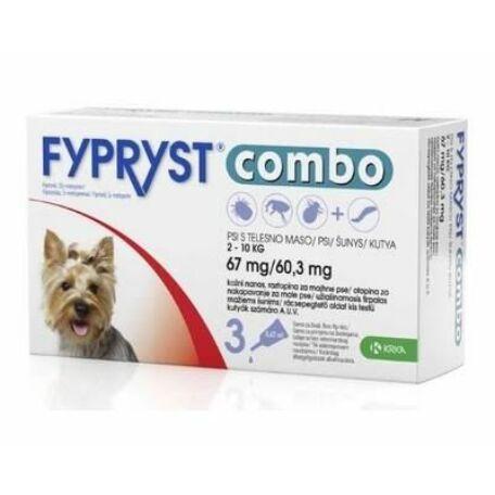 Fypryst Combo spot on kis méretű kutyáknak