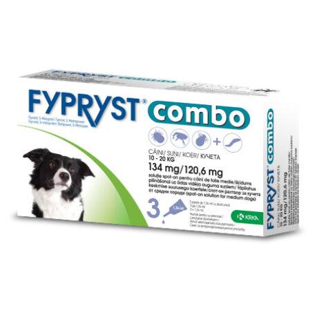 Fypryst Combo spot on közepes méretű kutyáknak
