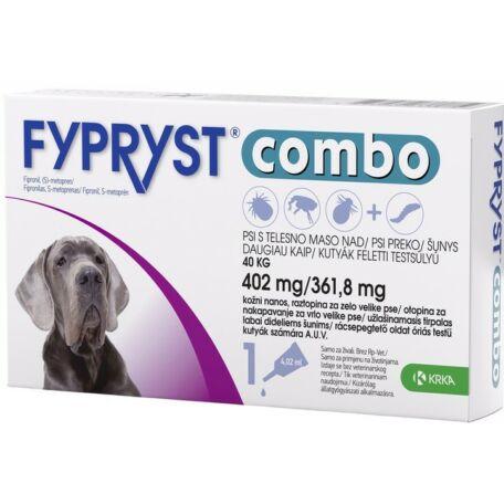 Fypryst Combo spot on óriás testű kutyáknak