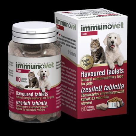 Immunovet Pets ízesített immunerősítő tabletta 60 db
