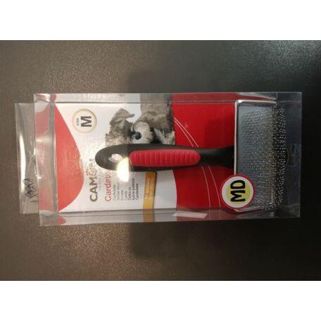 Camon bontókefe lekerekített acélfogakkal M méret 8,5x4,5 cm