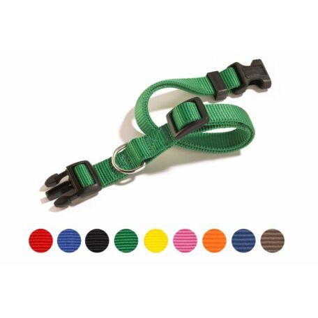 Camon állítható nyakörv többféle színben 18 mm M