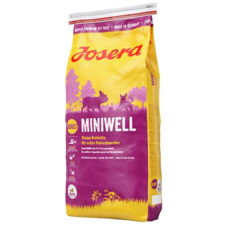 JOSERA Miniwell kutyatáp 15 kg