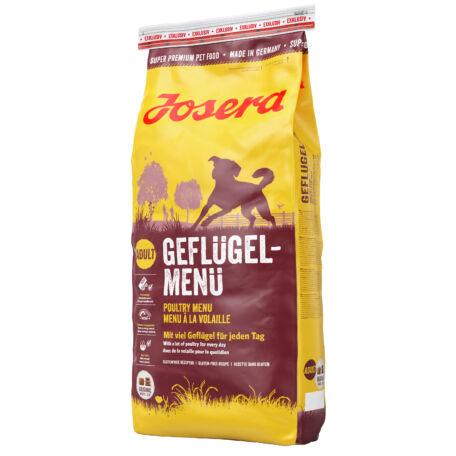 JOSERA Poultry-menu kutyatáp 15 kg