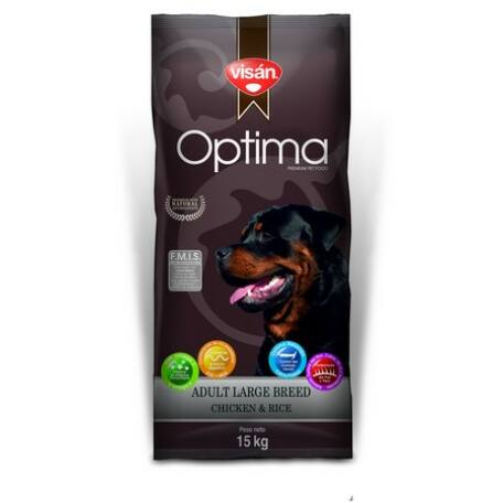 Visán Optima Adult Large Breed Chicken&Rice 15 kg