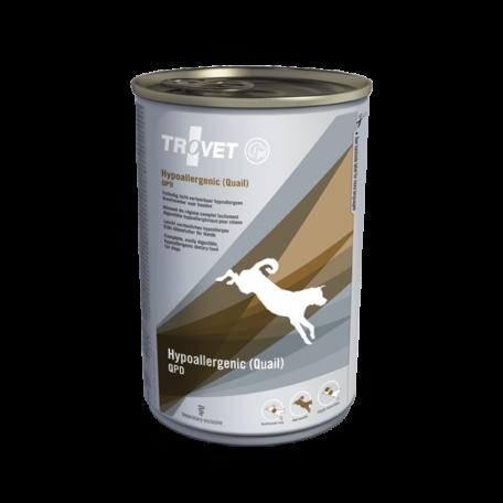 Trovet Hypoallergenic Quail (QPD) konzerv táp kutyáknak 400 g