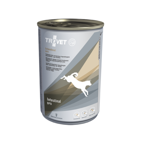 Trovet Intestinal Duck+Potato (DPD) konzerv táp kutyáknak