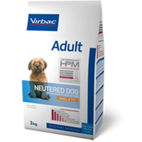 Virbac HPM Adult Neutered Dog Small&Toy