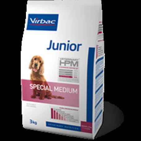 Virbac HPM Junior Dog Special Medium
