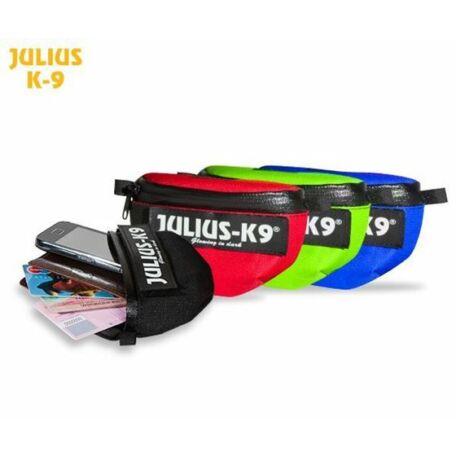 Julius-K9 IDC Univerzális oldaltáska / pár, hám méret: béby1 - size  4, kék
