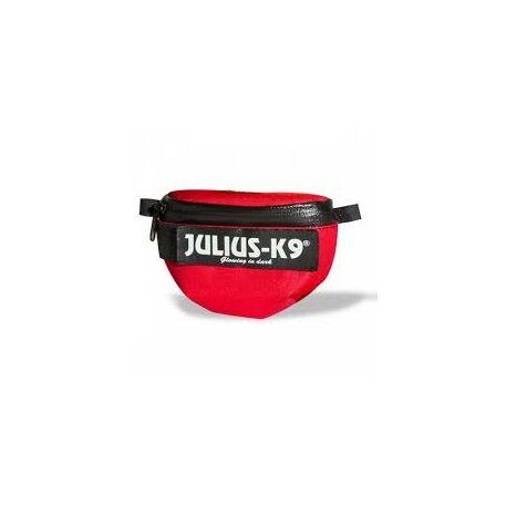 Julius-K9 IDC Univerzális oldaltáska / pár, hám méret: baby1  - size 4, piros