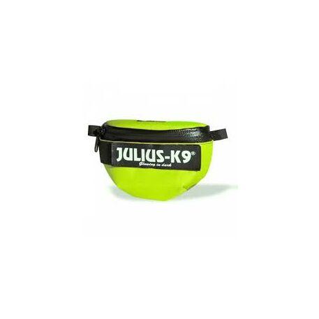 Julius-K9 IDC Univerzális oldaltáska / pár, hám méret: baby 1  - size 4, neon
