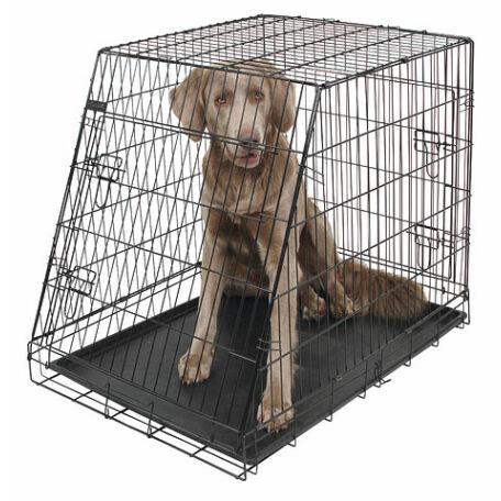Kutyaketrec 92x63x74 cm ferde