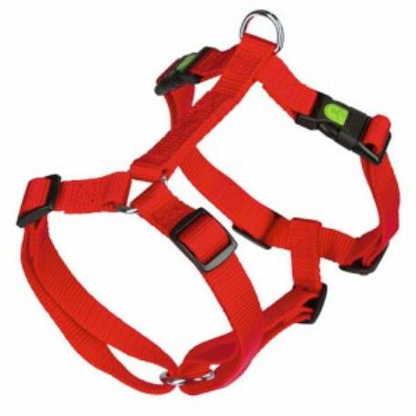 KERBL Miami hám (kiképző nyakörv) 20 mm piros