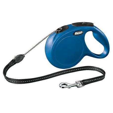 Classic Flexi póráz, (S) 8 m, max 12 kg, kék