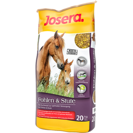 JOSERA Fohlen&Stute lótáp 20 kg