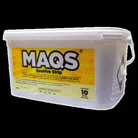 MAQS 68,2 g hangyasavat tartalmazó csíkok mézelő méhek számára 20 csík/doboz