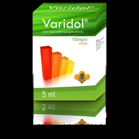 Varidol 125 mg/ml oldat mézelő méhek részére A.U.V. 5 ml HIÁNYCIKK