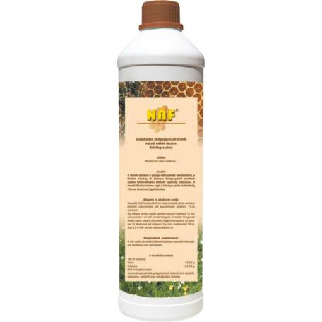 NAF gyógyhatású állatgyógyászati termék, mézelő méhek részére 1l
