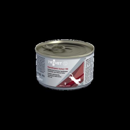 Trovet Hypoallergenic Turkey (TRD) pulykahús és rizs konzerv táp macskáknak 85 g