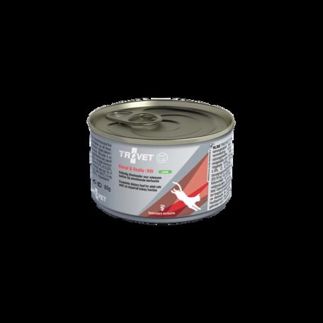 Trovet Renal and Oxalate (RID) konzerv táp macskáknak bárányhúsból 85 g