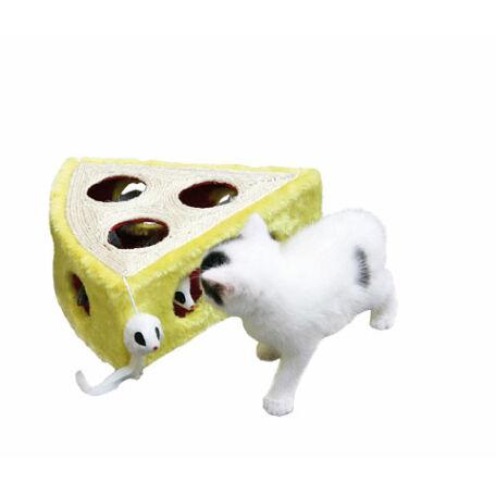 Sajt alakú cicajáték