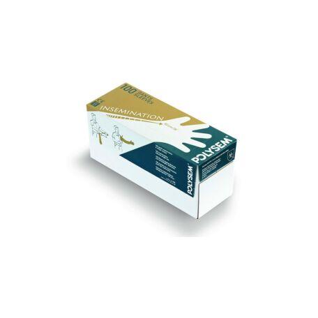Polysem kesztyű LPE 33 micron  100 db/doboz