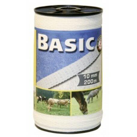 Basic szalag 200m/10mm fehér