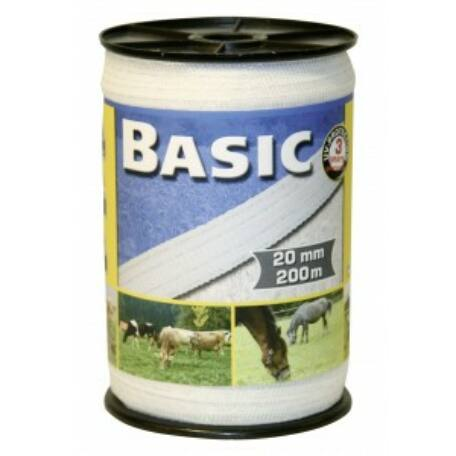 Basic szalag 200m/20mm fehér