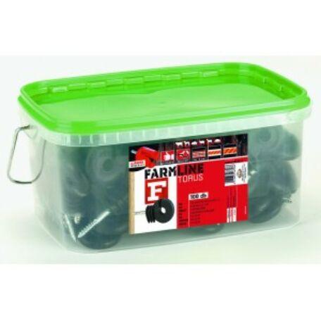Farmline Torus F Facsavaros körszigetelő 100 db/csomag+ajándék behajtó