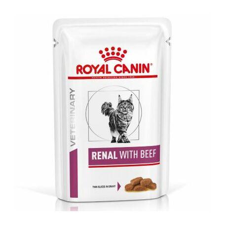 Royal Canin Cat Renal marhahúsos alutasakos eledel