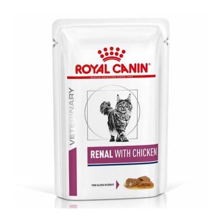 Royal Canin Cat Renal csirkés alutasakos eledel